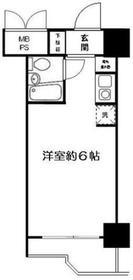 武蔵小杉駅 徒歩15分9階Fの間取り画像