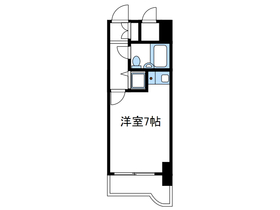 海老名駅 徒歩5分6階Fの間取り画像