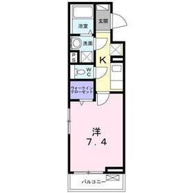 ROI2階Fの間取り画像