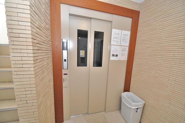 エスポワール永和 嬉しい事にエレベーターがあります。重い荷物を持っていても安心