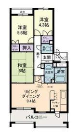 上大岡駅 徒歩30分2階Fの間取り画像