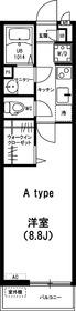 リブリ・ヤナギ1階Fの間取り画像