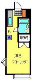 グリーンヒル横浜1階Fの間取り画像