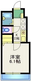 サザンレジデンス2階Fの間取り画像