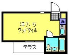 サバーブ二俣川Ⅰ1階Fの間取り画像