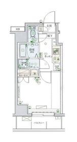 リヴシティ横濱弘明寺弐番館4階Fの間取り画像