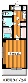 S・クレアシオン2階Fの間取り画像