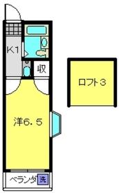 スターホームズ常盤台2階Fの間取り画像