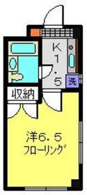 アネックス加藤1階Fの間取り画像