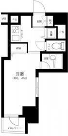 月島駅 徒歩8分3階Fの間取り画像