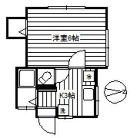 元住吉駅 徒歩9分1階Fの間取り画像