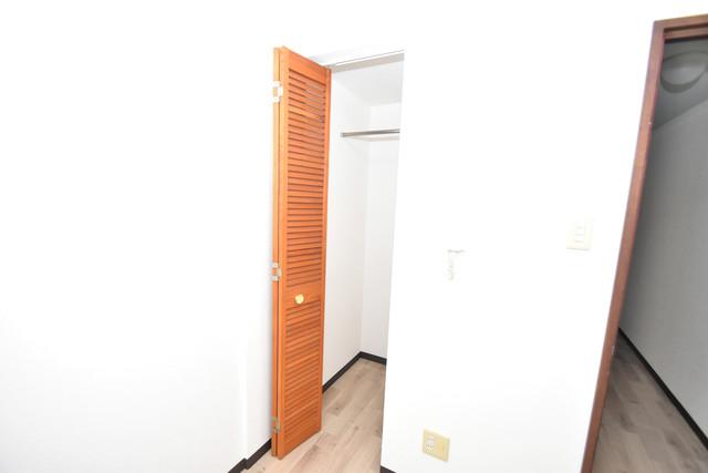 シティーコア高井田Ⅰ もちろん収納スペースも確保。いたれりつくせりのお部屋です。