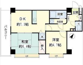 二俣川YSマンション1階Fの間取り画像