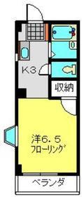 ガーデンヒルズ磯子3階Fの間取り画像