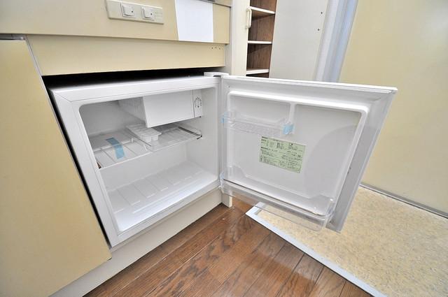 フローラ ラポルテ 嬉しいミニ冷蔵庫付きです。家電代1つ分浮きましたね。