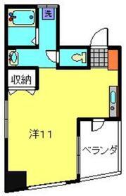 ルナマーレ3階Fの間取り画像
