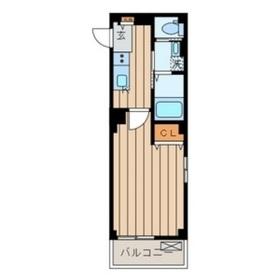 ラ・メール ヒダカ 関内2階Fの間取り画像