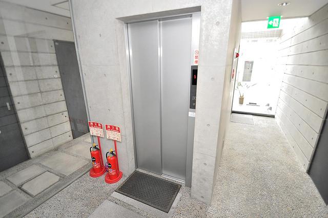 ファーストアベニール エレベーター付き。これで重たい荷物があっても安心ですね。