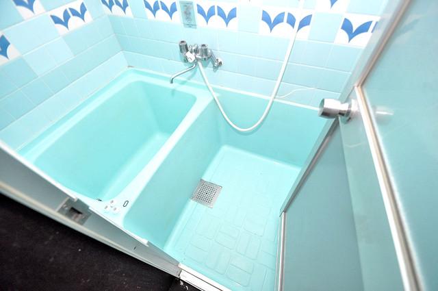 ロイヤルハイツ八戸ノ里 ゆったりと入るなら、やっぱりトイレとは別々が嬉しいですよね。