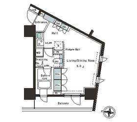 パークアクシス本郷の杜2階Fの間取り画像