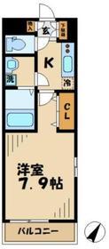 ラサンテ2階Fの間取り画像