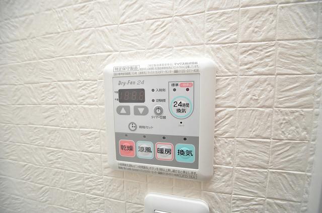 WESTRITZ巽 浴室乾燥機付きで梅雨の時期も怖くありません。