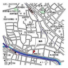 パークアクシス文京ステージ案内図