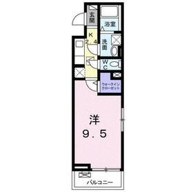 カニ・エヒク・カシワ1階Fの間取り画像