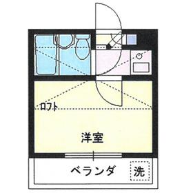 アートパレス上福岡2階Fの間取り画像