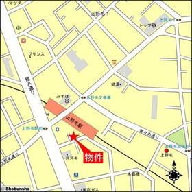 上野毛ステーションホーム案内図