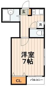 シェマロン2階Fの間取り画像