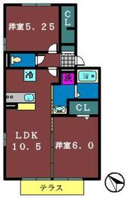 グレイス鷺沼台A2階Fの間取り画像