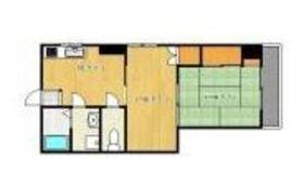 飯倉ビル6階Fの間取り画像