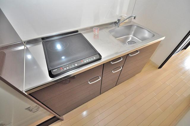 オランジュ上小阪 お料理好きにはうれしい設備。豪華なシステムキッチンですよ。