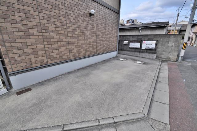 サンハイツ横沼 敷地内には専用の駐輪スペースもあります。