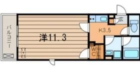 プランドール横浜3階Fの間取り画像