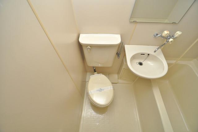 アペックスハイツ・ユニ シャワー1本で水回りが簡単に掃除できますね。