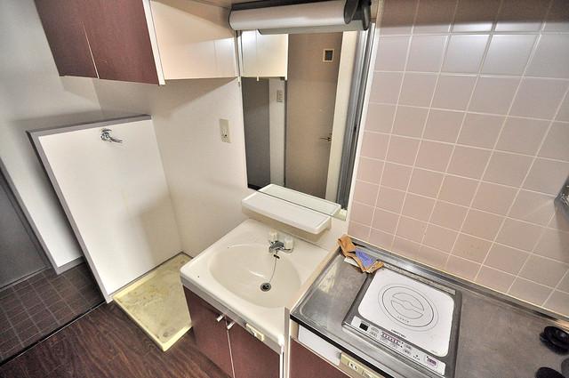ジオ・グランデ高井田 忙しい朝にあなたを手助けしてくれる素敵な洗面台。