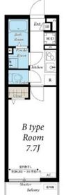 リブリ・Anjewel 2階Fの間取り画像