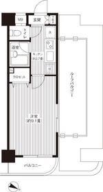 プラン・デスポワール9階Fの間取り画像