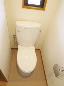 スタイリッシュなトイレです