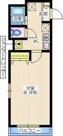 メゾン タイセイ1階Fの間取り画像