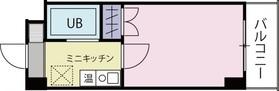 ベルビー川崎3階Fの間取り画像