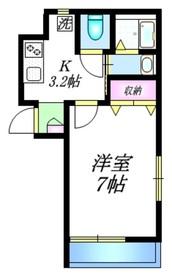 KISARAGI3階Fの間取り画像