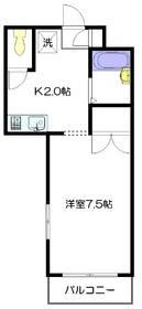 ビクトワール西新宿3階Fの間取り画像