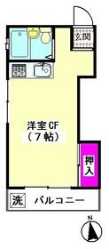 塚越荘 101号室