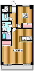 下赤塚駅 徒歩21分2階Fの間取り画像