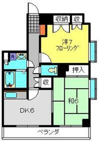 鶴見駅 バス20分「駒岡」徒歩2分2階Fの間取り画像