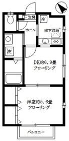 東武練馬駅 徒歩13分1階Fの間取り画像