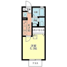 シオン北鎌倉1階Fの間取り画像